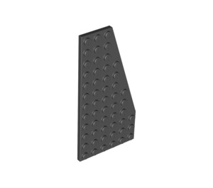 Wedge, Plate 6 x 12 Right - Black