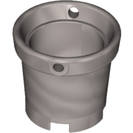 Belville Bucket without Handle - Pearl Light Gray