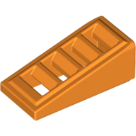 Slope 18 2 x 1 x 2/3 with 4 Slots - Orange