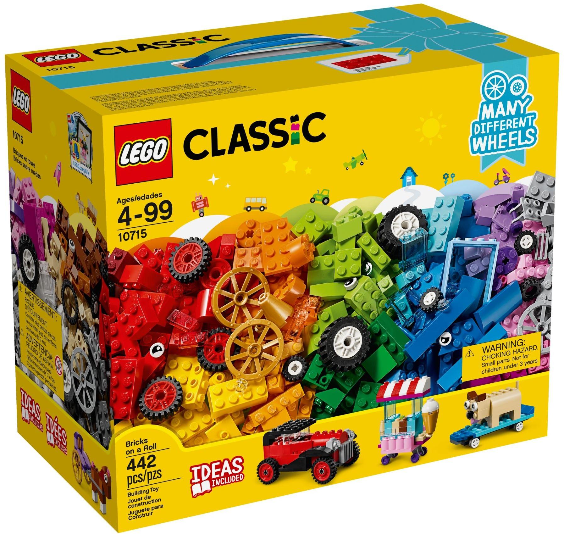 LEGO® Kockák és kerekek