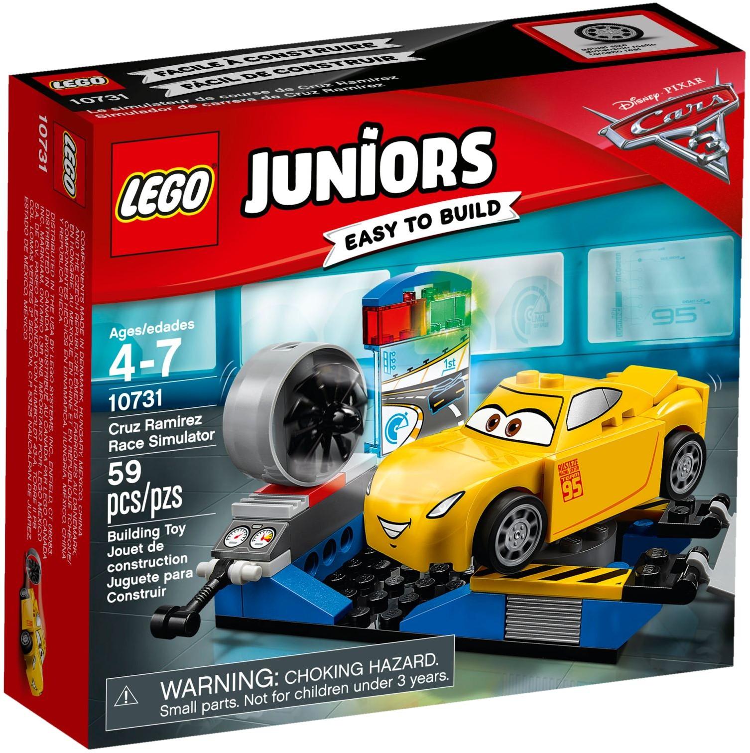 LEGO Juniors - Cruz Ramirez versenyszimulátor