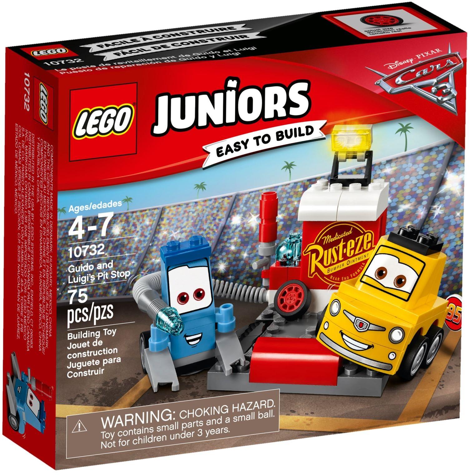 LEGO Juniors - Guido és Luigi boxutcája