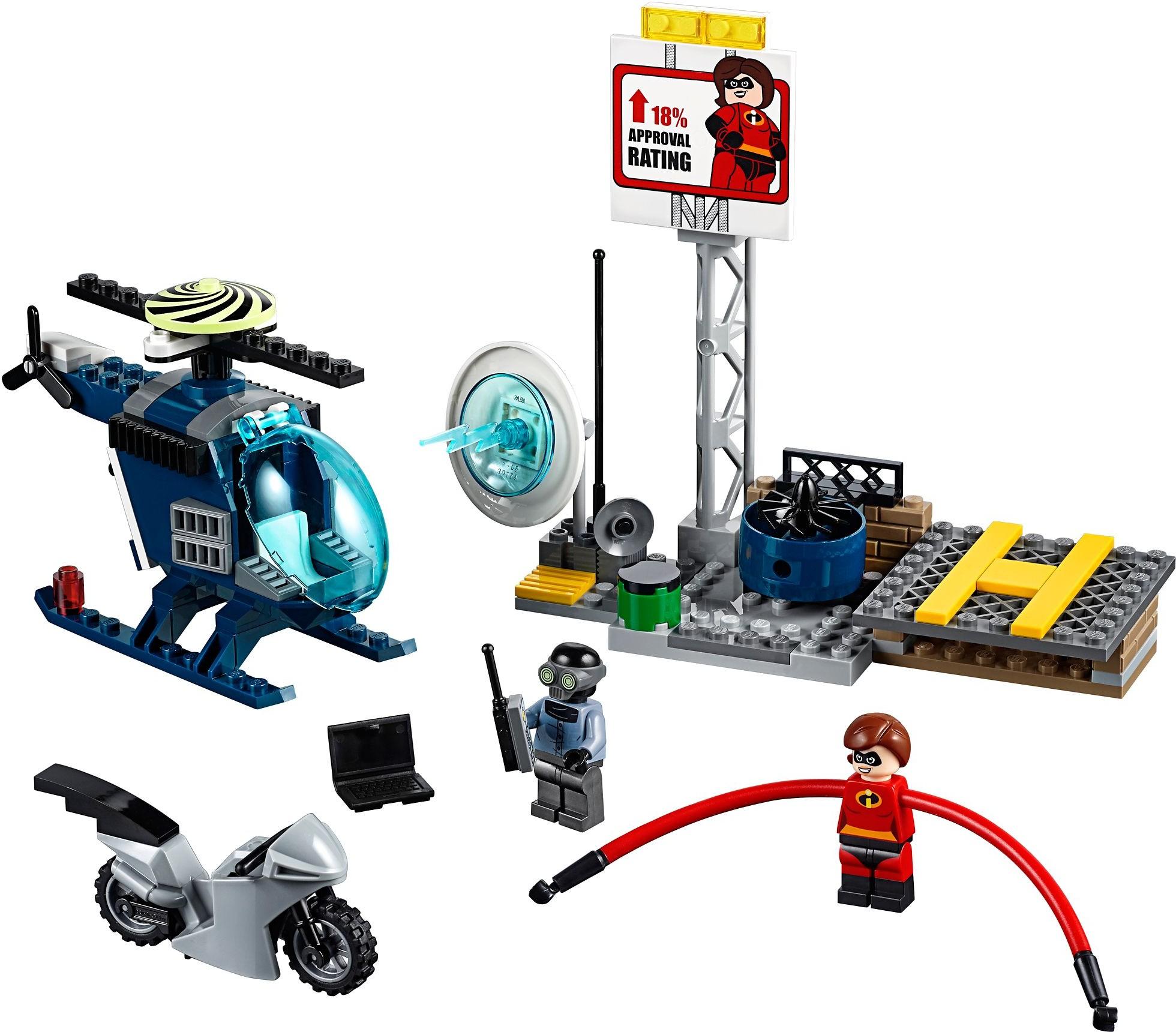 LEGO® Nyúlánka üldözése a háztetőn