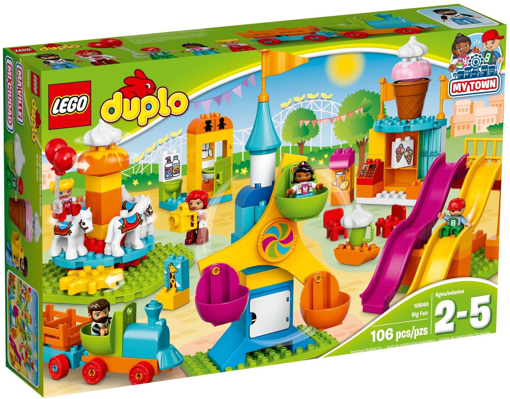 LEGO® 10840 - Nagy vidámpark