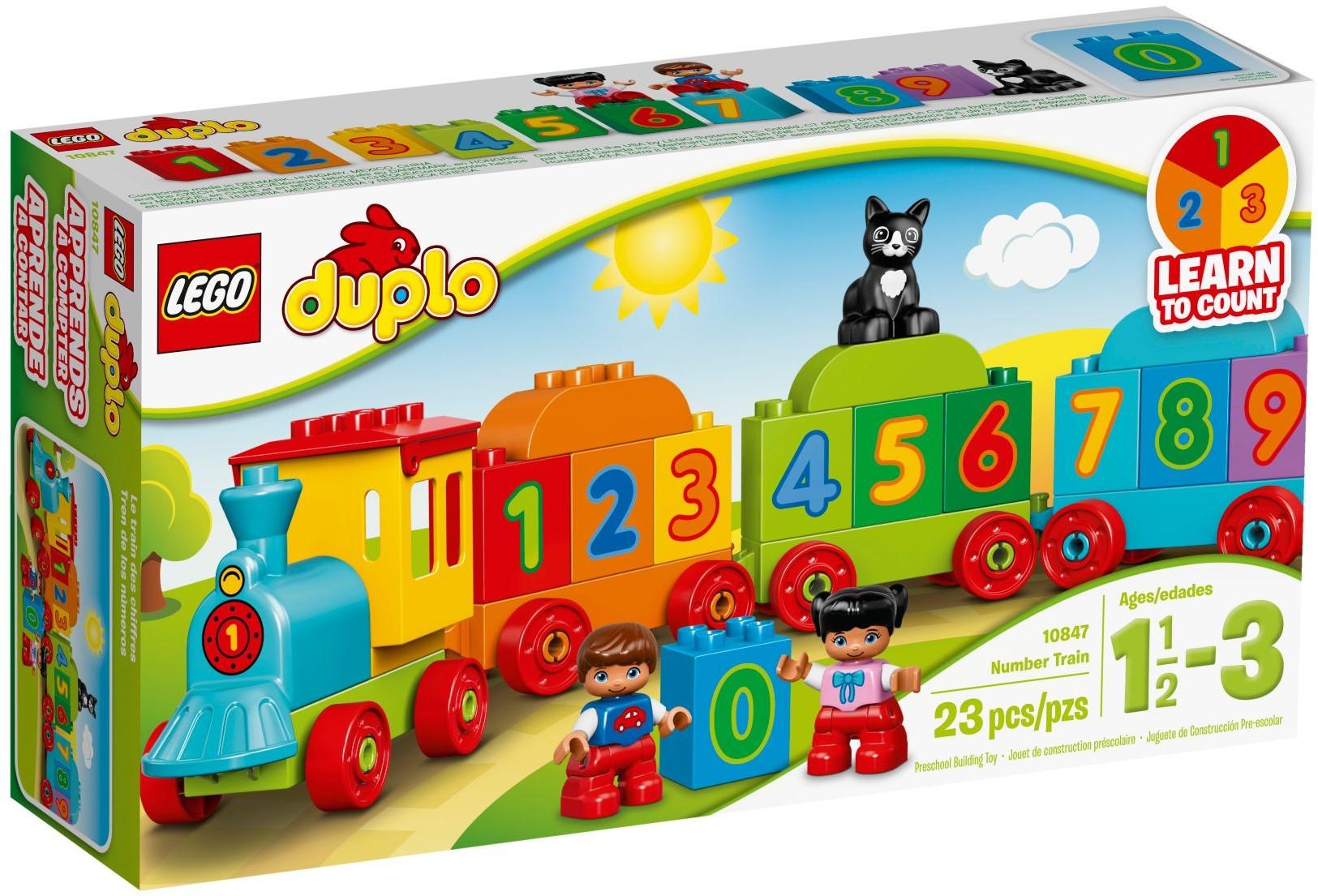 LEGO® Számvonat