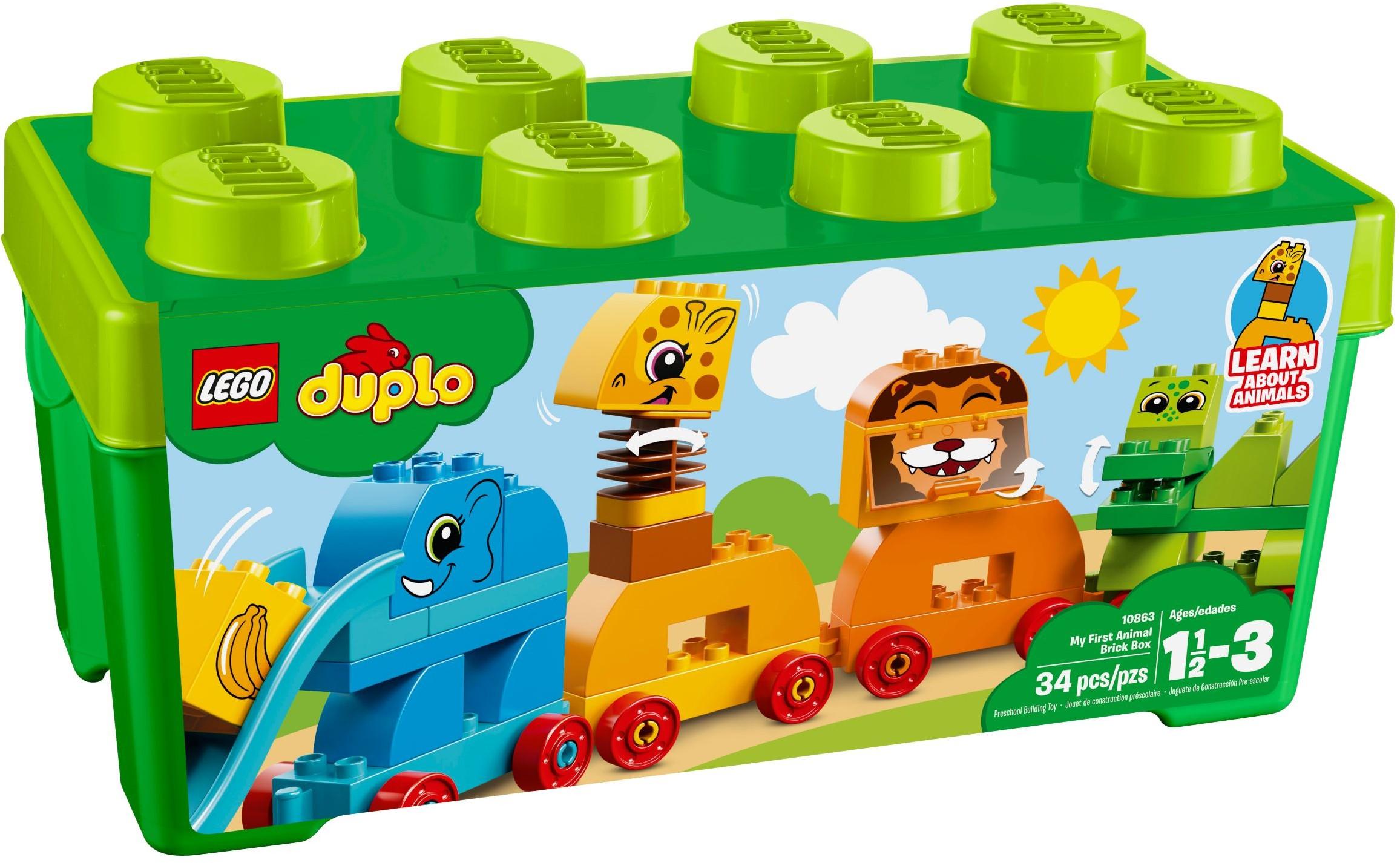 LEGO® Első állatos dobozom
