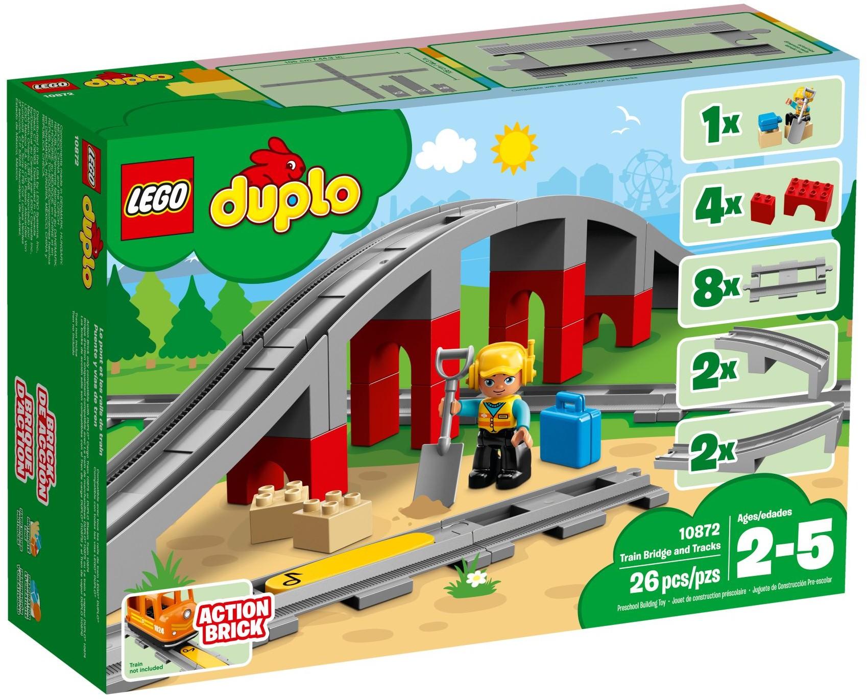 LEGO® 10872 - Vasúti híd és sínek
