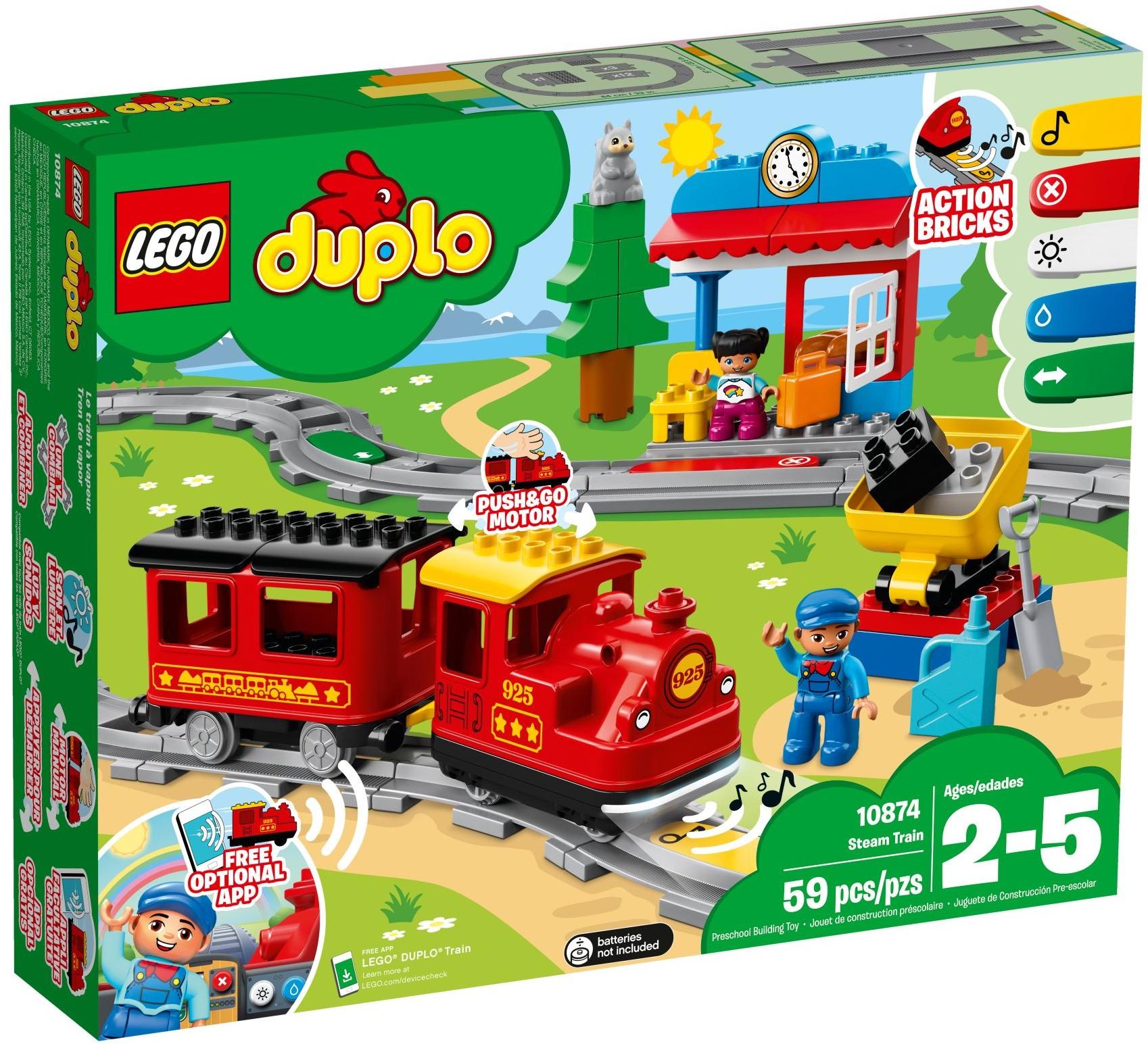 LEGO® 10874 - Gőzmozdony