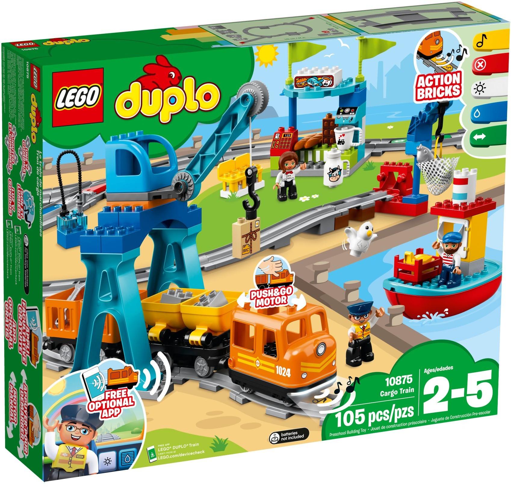 LEGO® 10875 - Tehervonat
