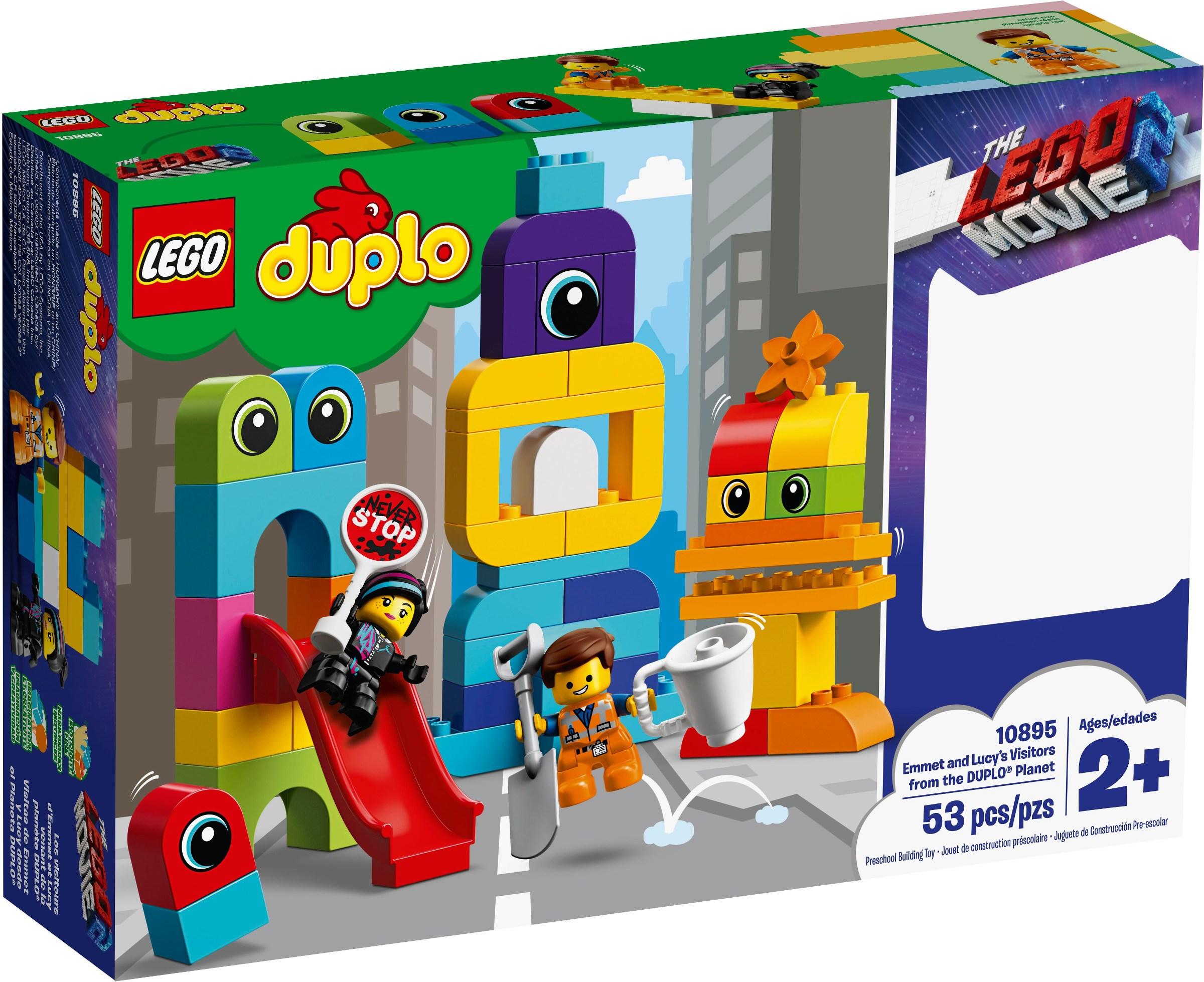 LEGO® 10895 - Emmet és Lucy látogatói a DUPLO® bolygóról