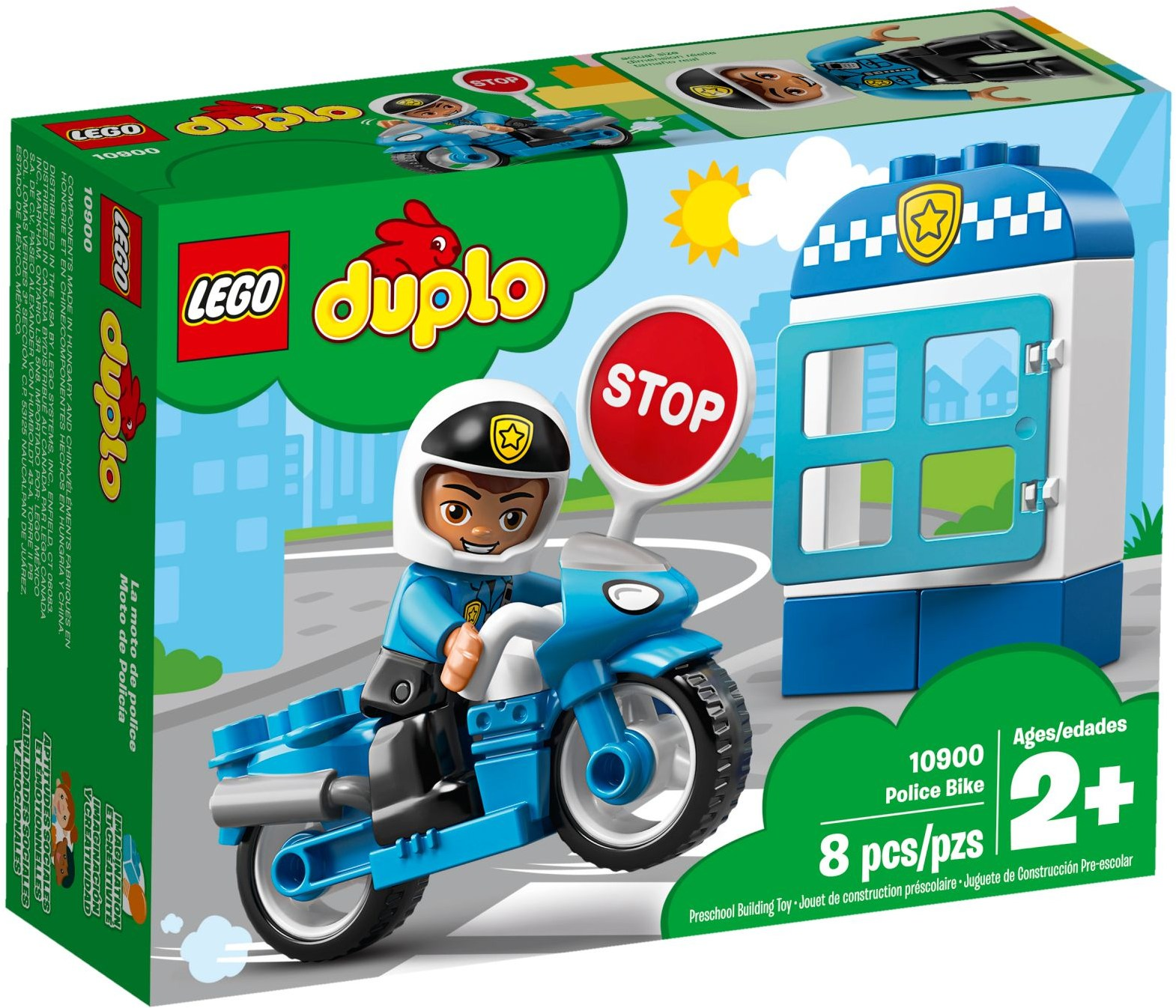 LEGO® 10900 - Rendőrségi motor