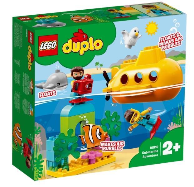 LEGO® 10910 - Tengeralattjárós kalandok