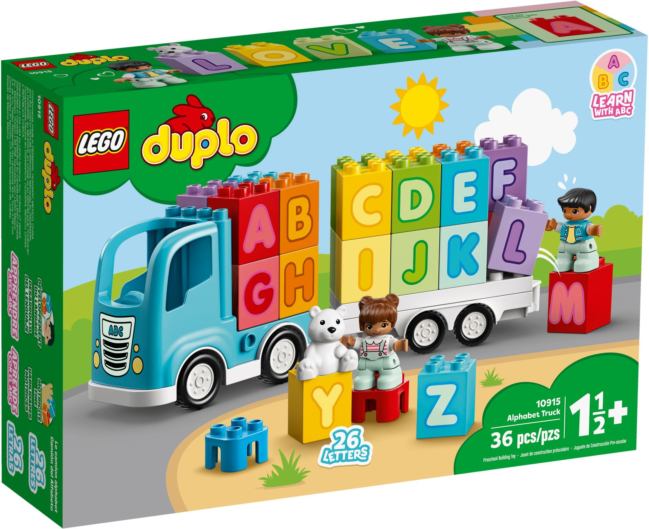 LEGO® 10915 - Betűautó