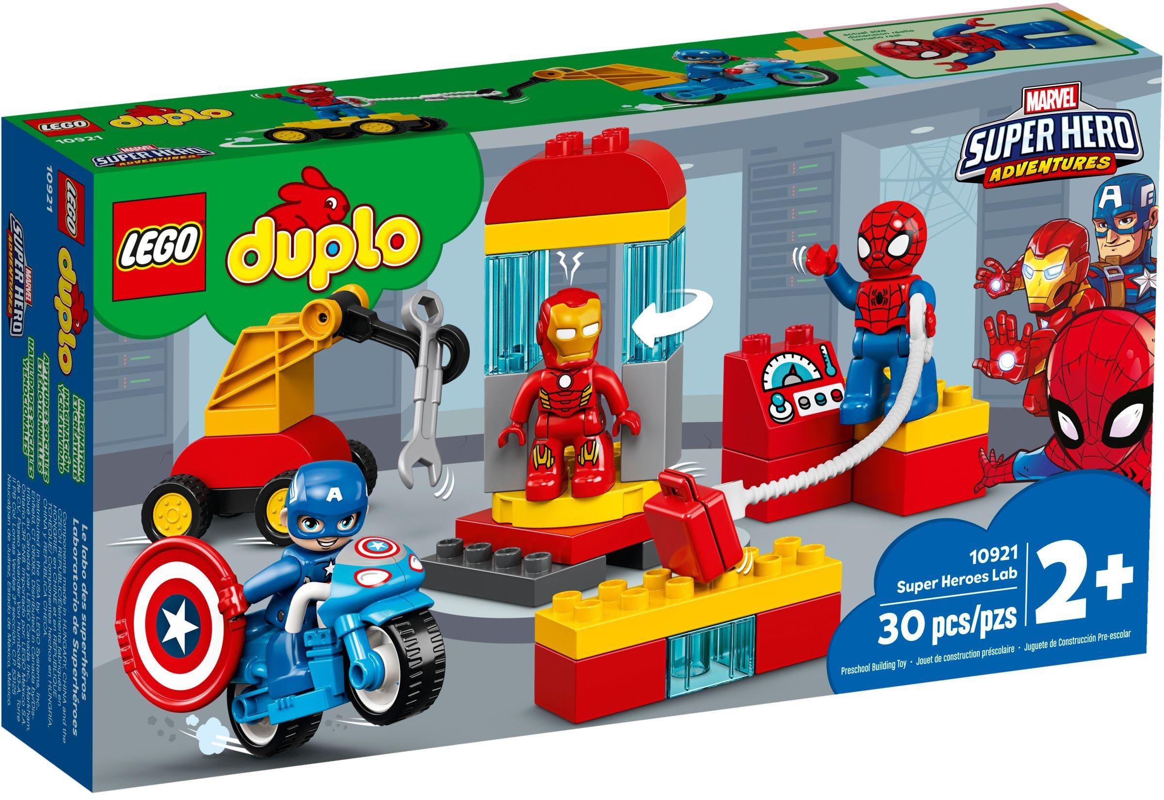 LEGO® 10921 - Szuperhős labor