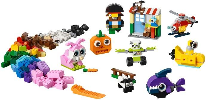 LEGO® Kockák és szemek
