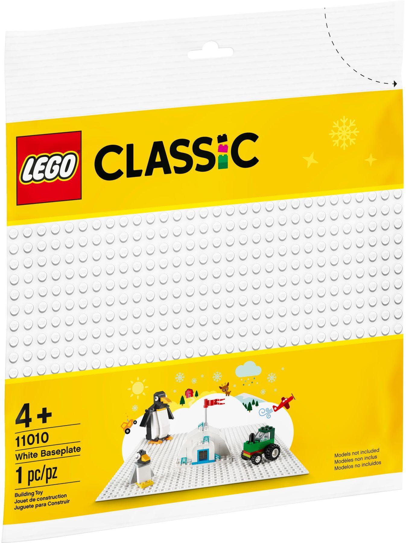 LEGO® 11010 - Fehér alaplap