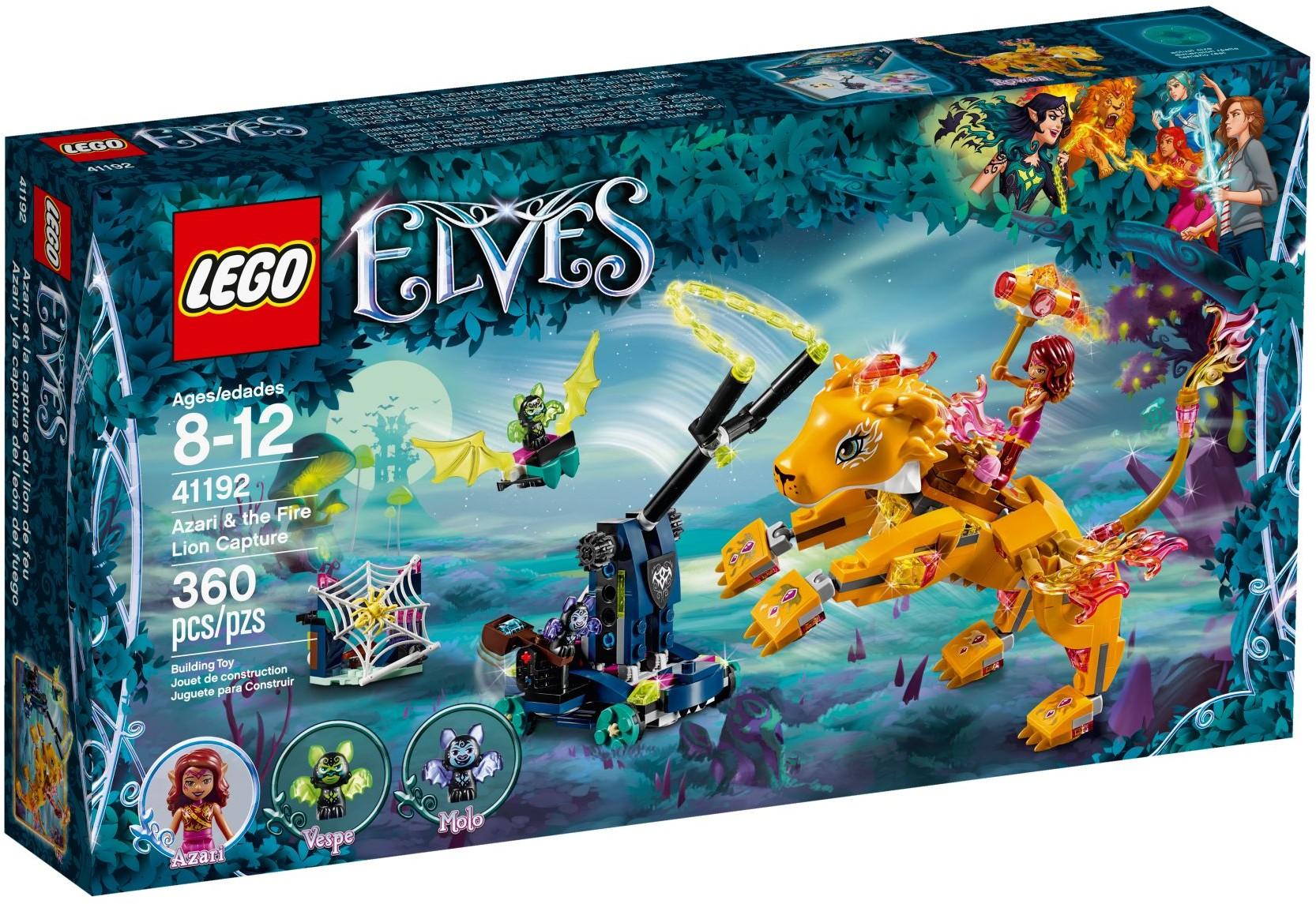 LEGO® 41192 - Azari és a tűzoroszlán elfogása