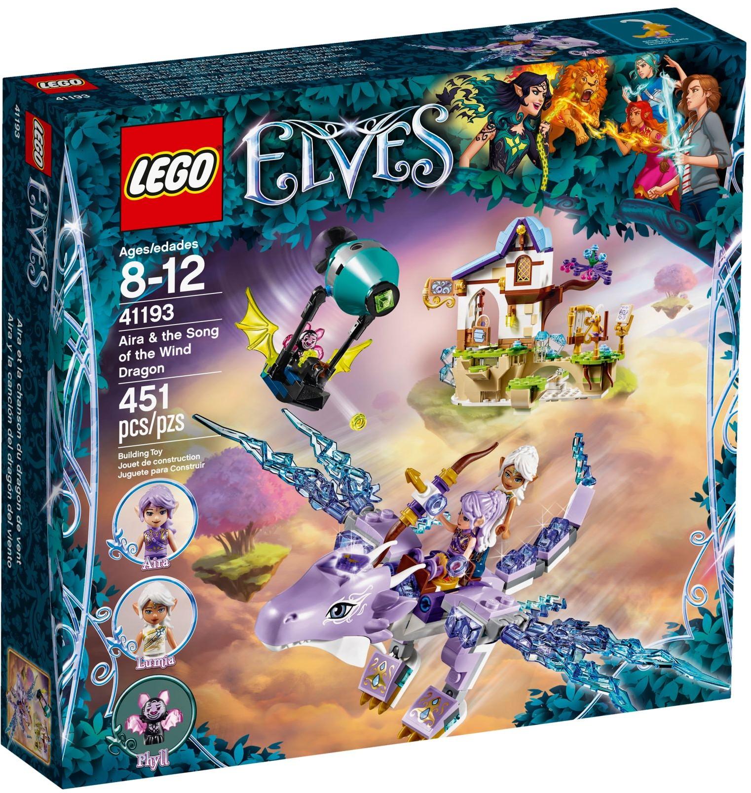 LEGO® 41193 - Aira és a szélsárkány dala
