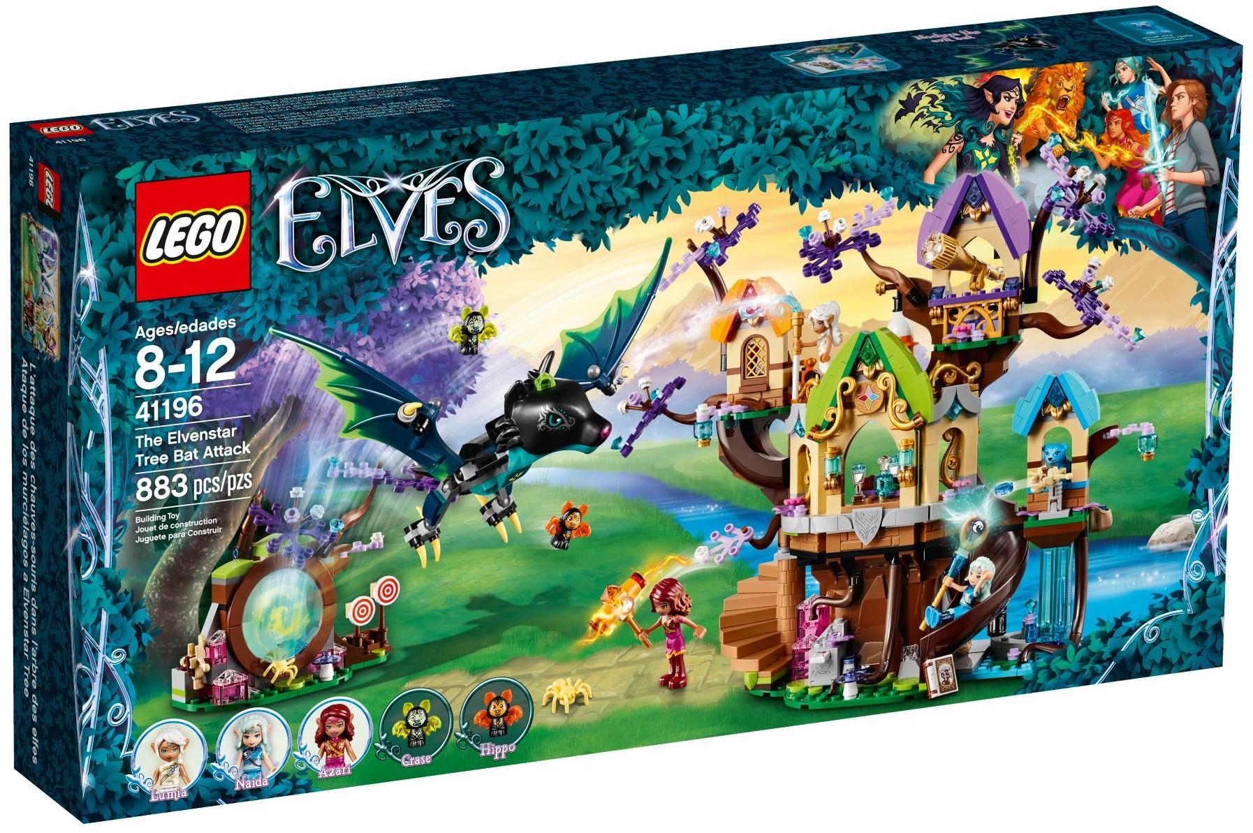 LEGO® 41196 - Denevértámadás az Elvenstar fa ellen