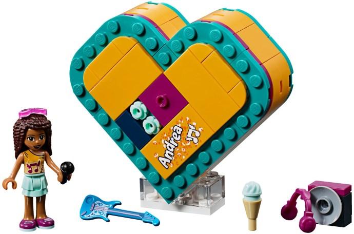 LEGO® 41354 - Andrea Szív alakú doboza
