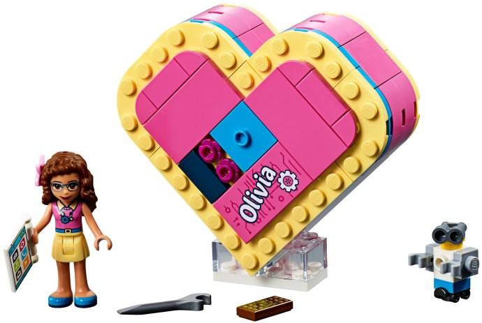 LEGO® 41357 - Olivia Szív alakú doboza