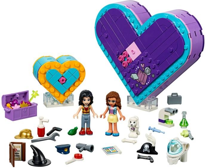 LEGO® 41359 - A barátság Szív alakú doboza