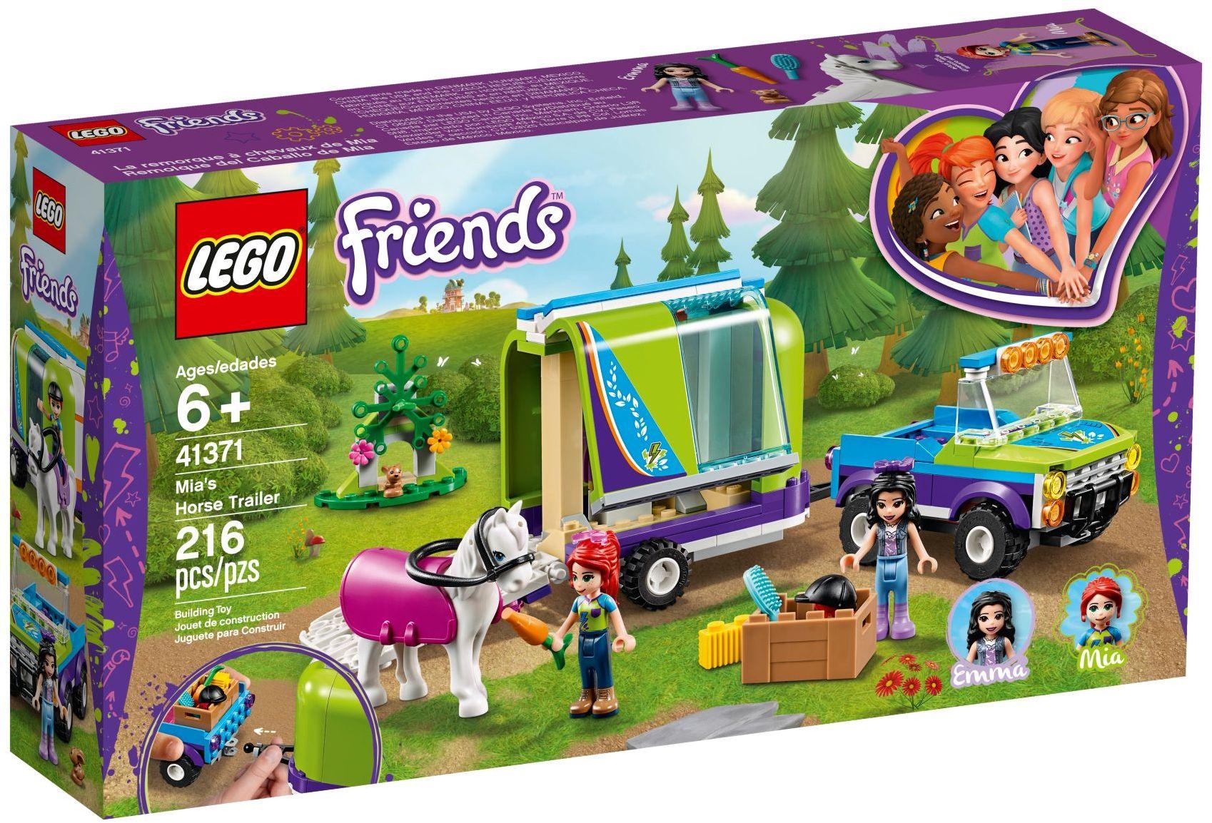 LEGO® Mia lószállító utánfutója