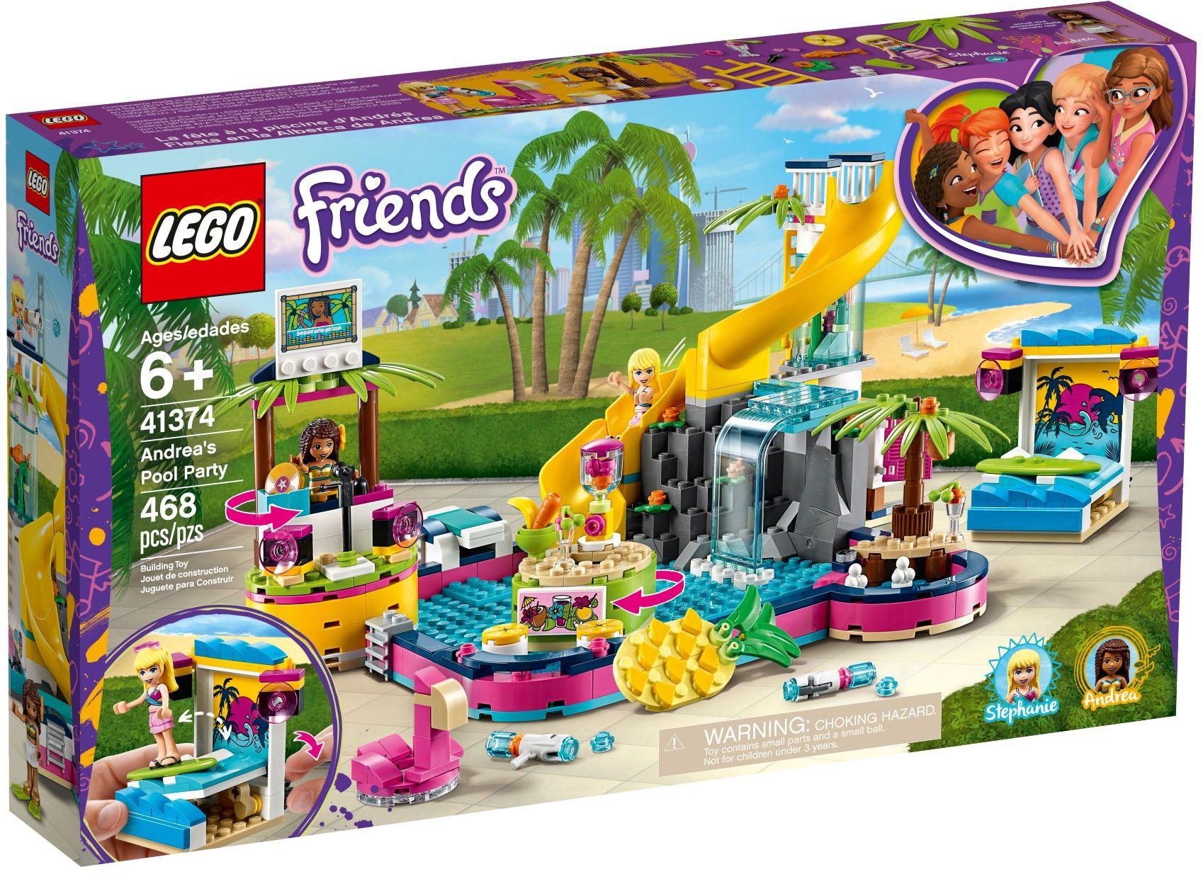 LEGO® 41374 - Andrea medencés partija