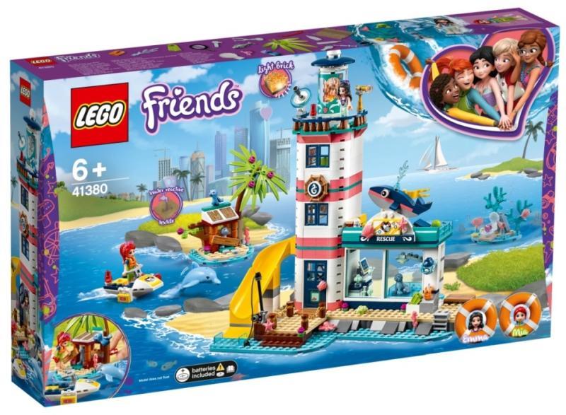 LEGO® 41380 - Világítótorony mentőközpont