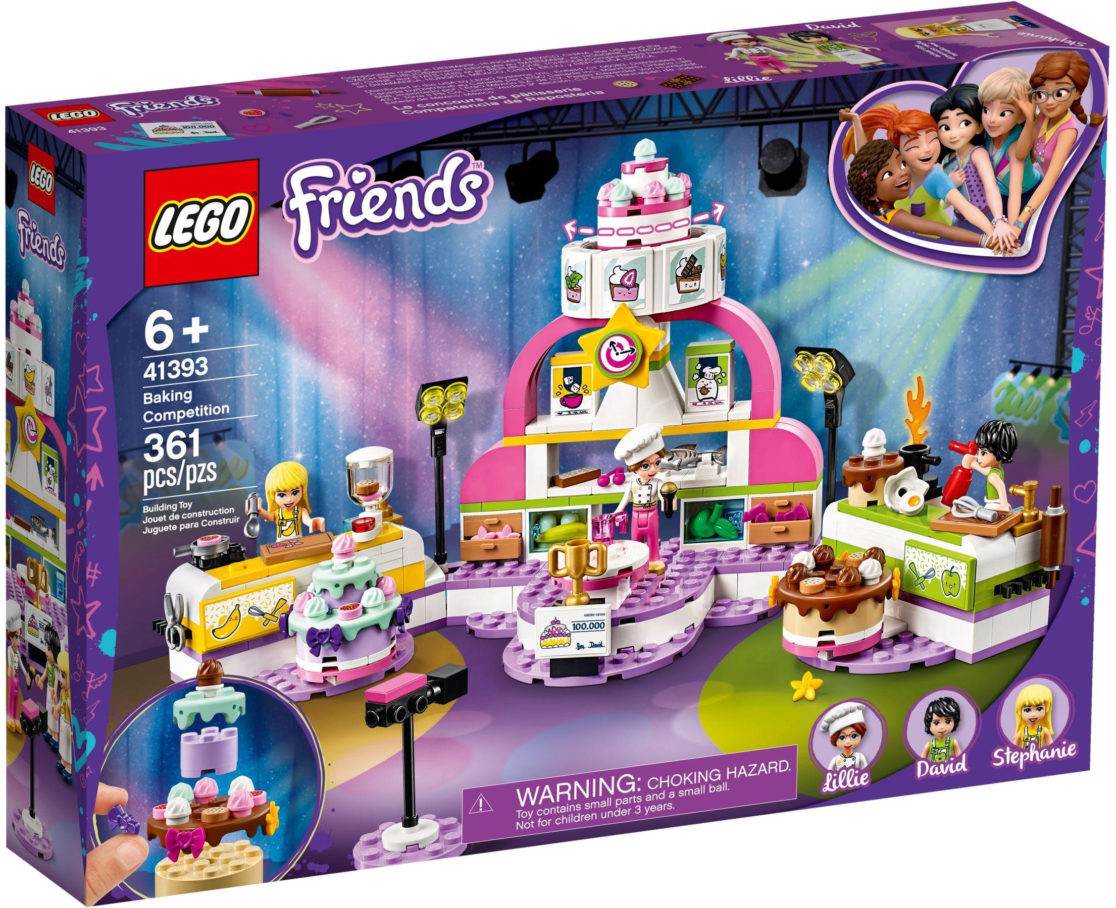 LEGO® 41393 - Cukrász verseny