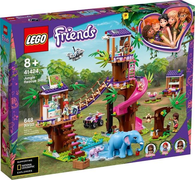LEGO® 41424 - Dzsungel Mentőközpont