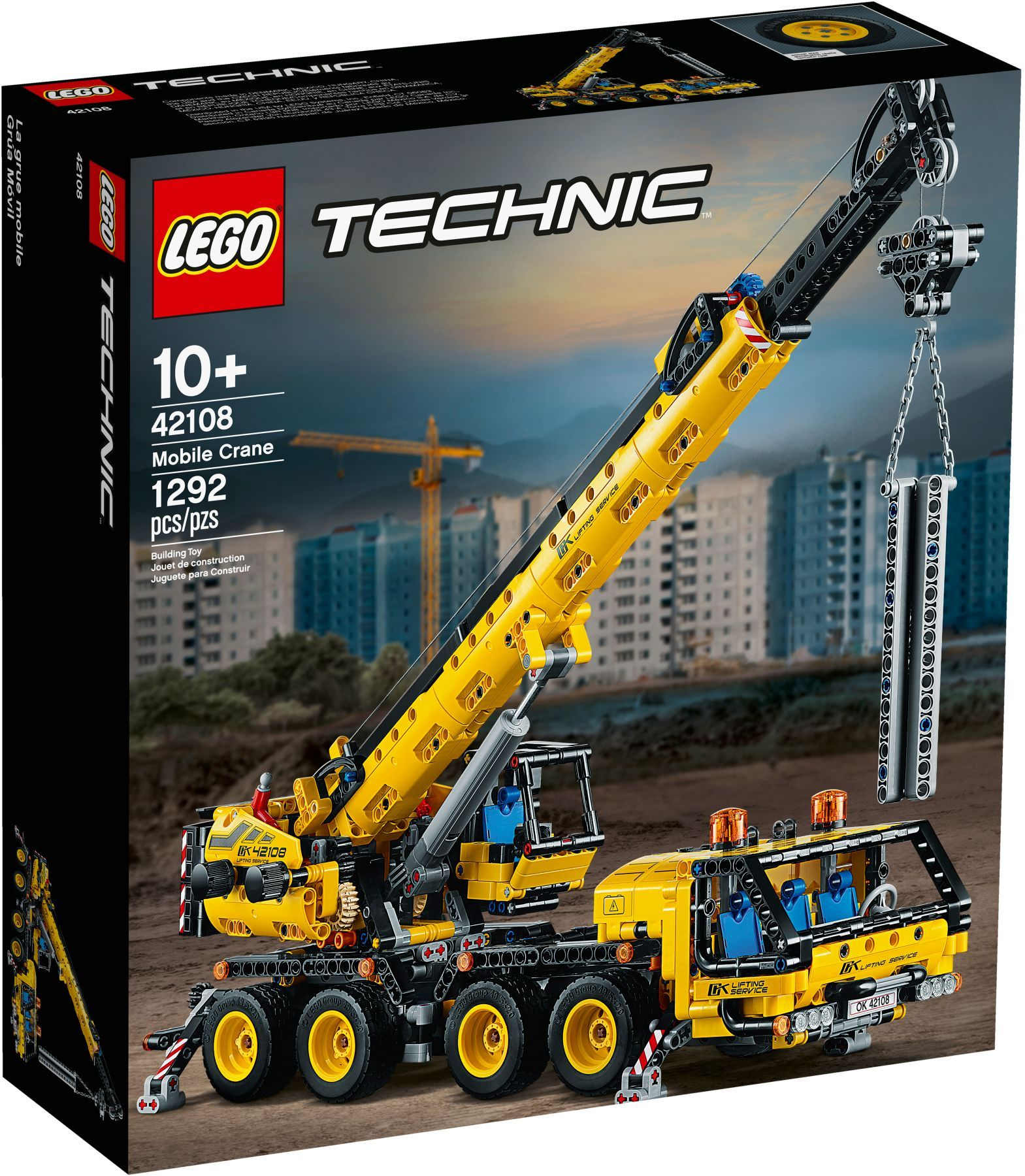 LEGO® 42108 - Mobil daru