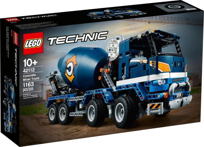 LEGO® 42112 - Betonkeverő teherautó