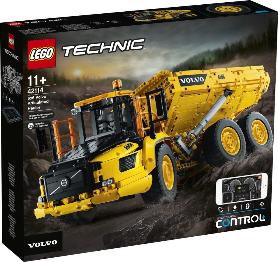 LEGO® 42114 - 6x6 Volvo csuklós vontató