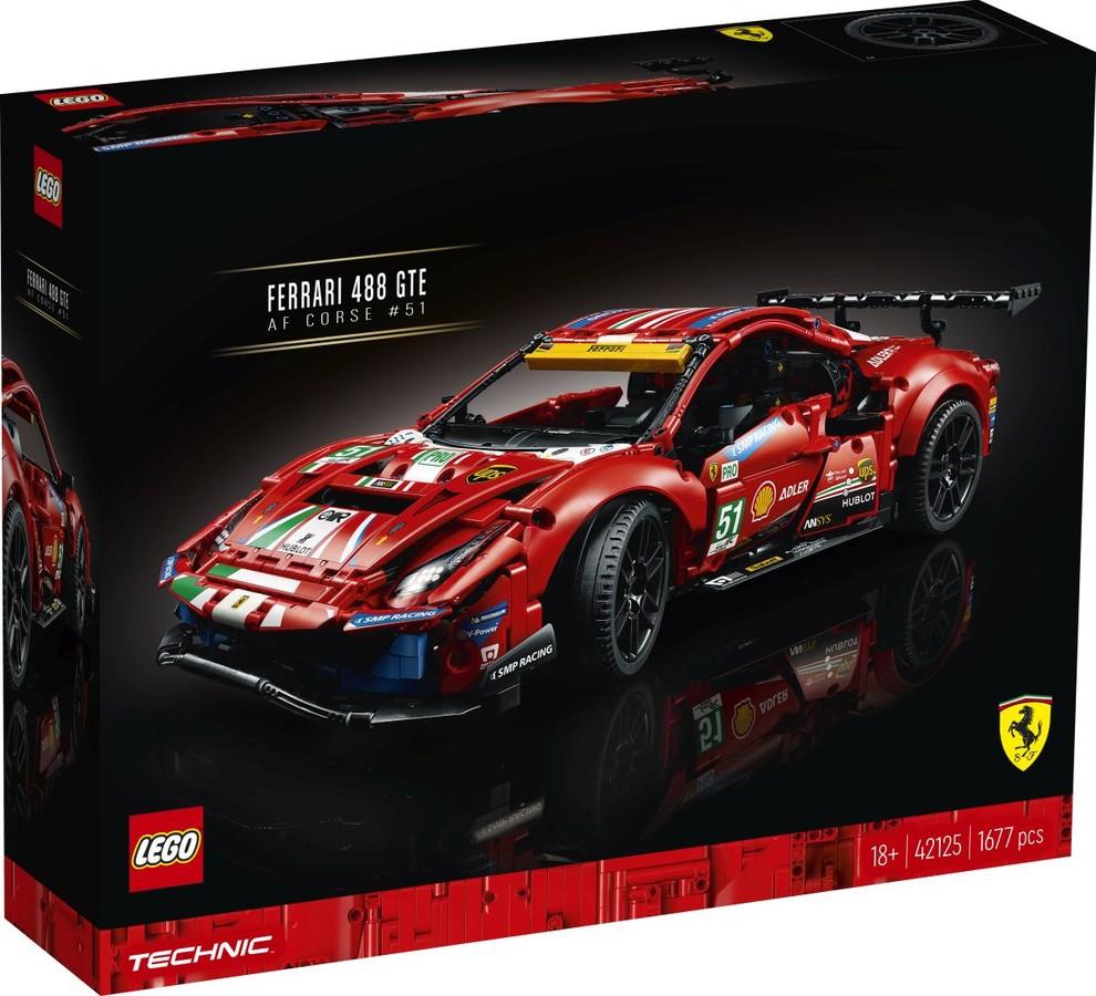 """Technic 42125 - Ferrari 488 GTE """"AF Corse #51"""""""