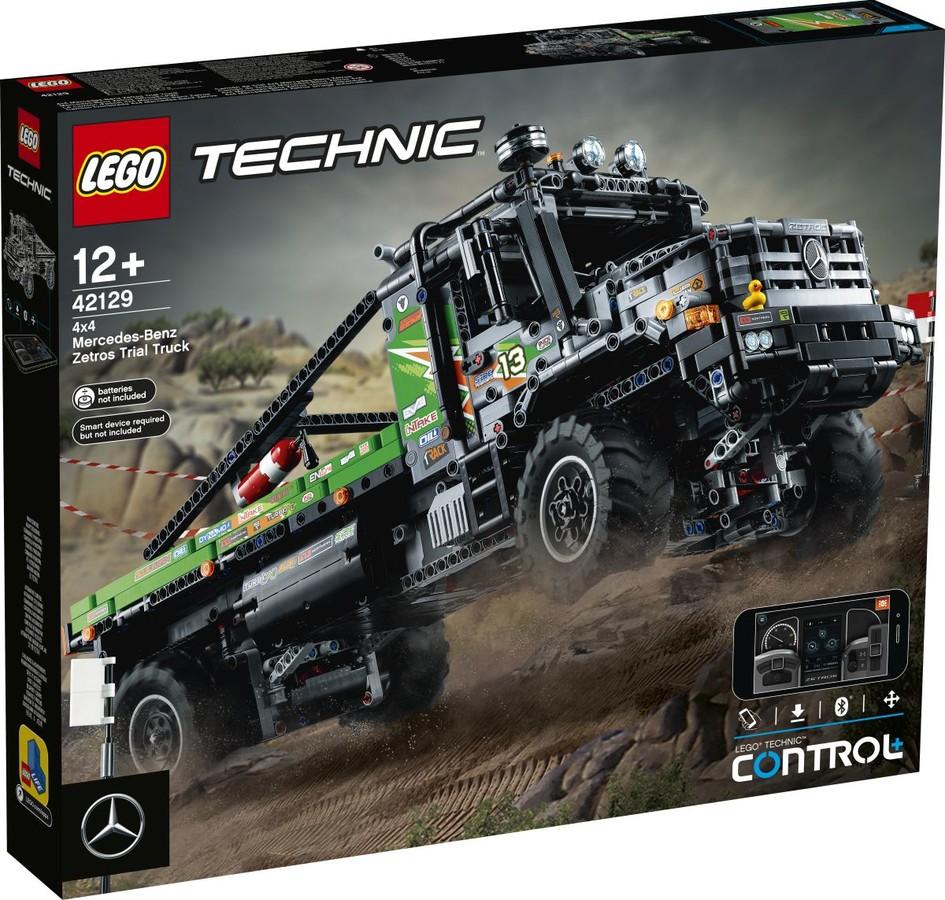 Technic 42129 - Applikációval irányítható 4x4 Mercedes-Benz Zetros verseny teherautó
