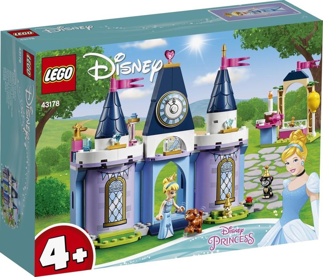 LEGO® 43178 - Hamupipőke ünnepe a kastélyban