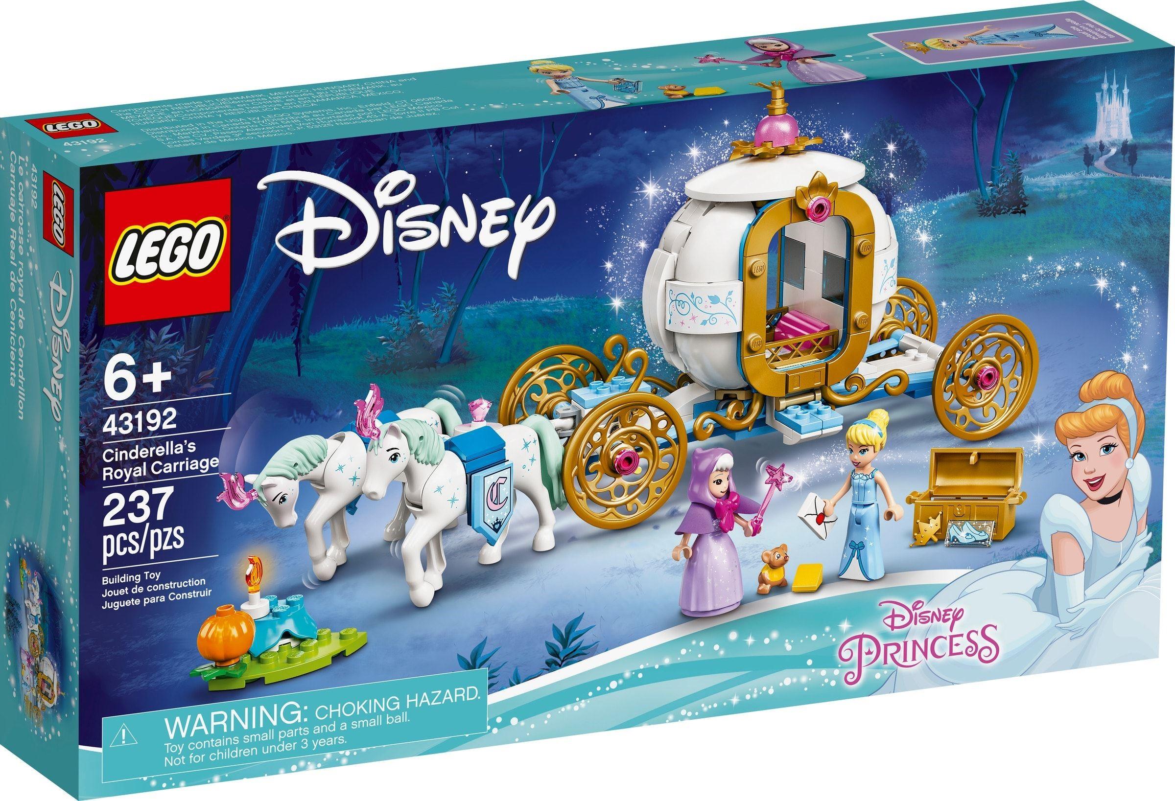 LEGO® 43192 - Hamupipőke királyi hintója
