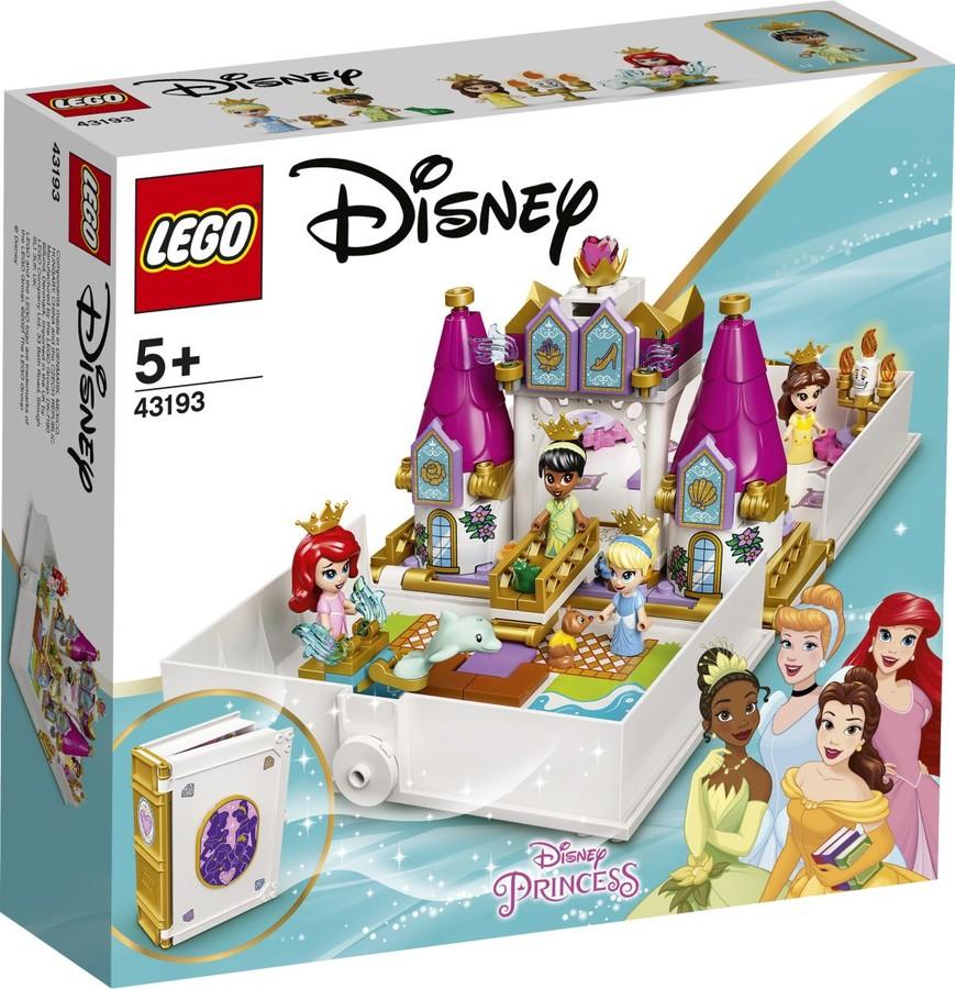 43193 - Ariel, Belle, Hamupipőke és Tiana mesebeli kalandja