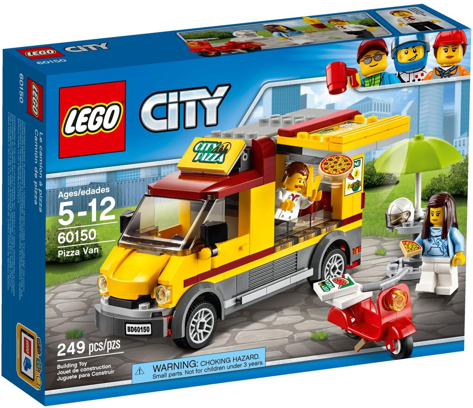 LEGO® Pizzás furgon