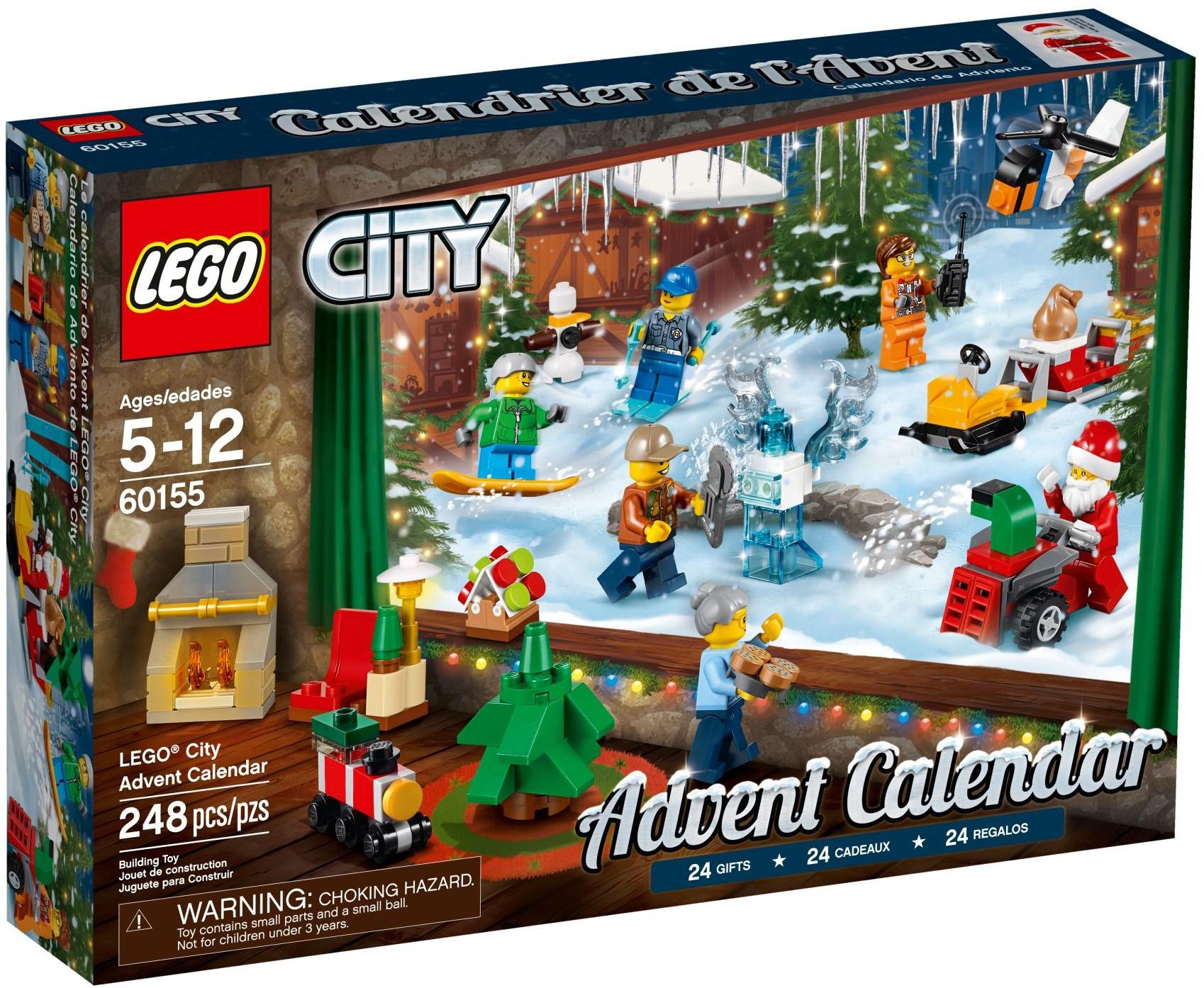 LEGO® City Adventi naptár