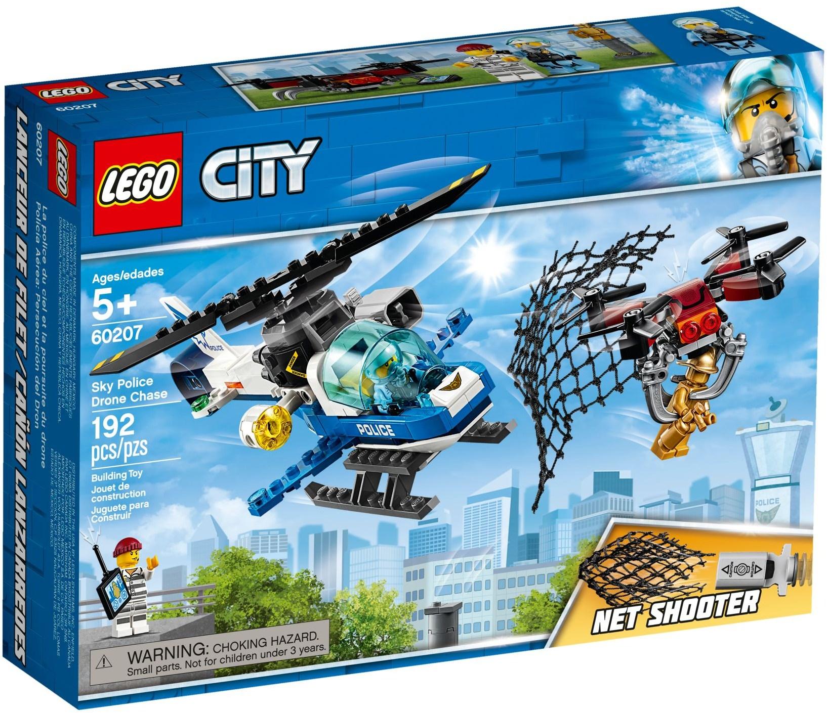 LEGO® Légi rendőrségi drónos üldözés
