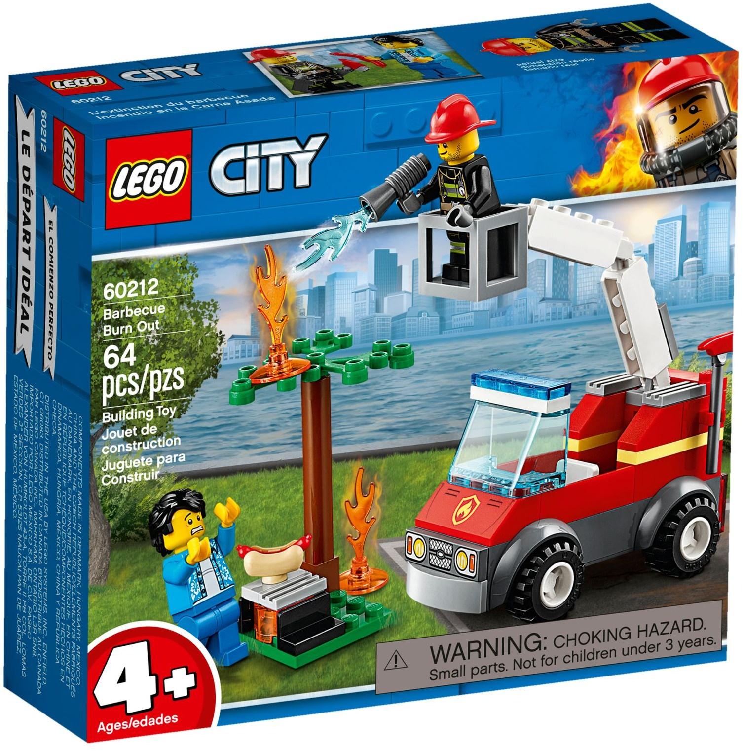 LEGO® Kiégett grill