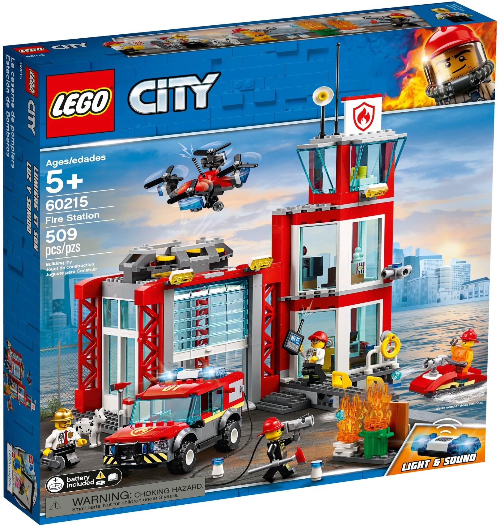 LEGO® 60215 - Tűzoltóállomás