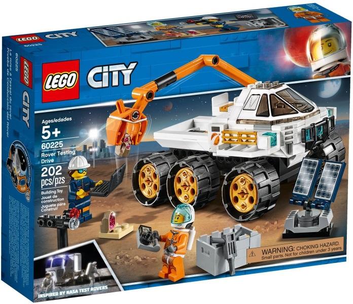 LEGO® Rover tesztvezetés