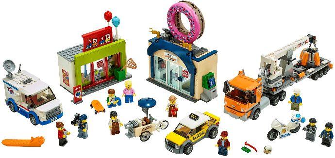LEGO® Fánkozó megnyitó