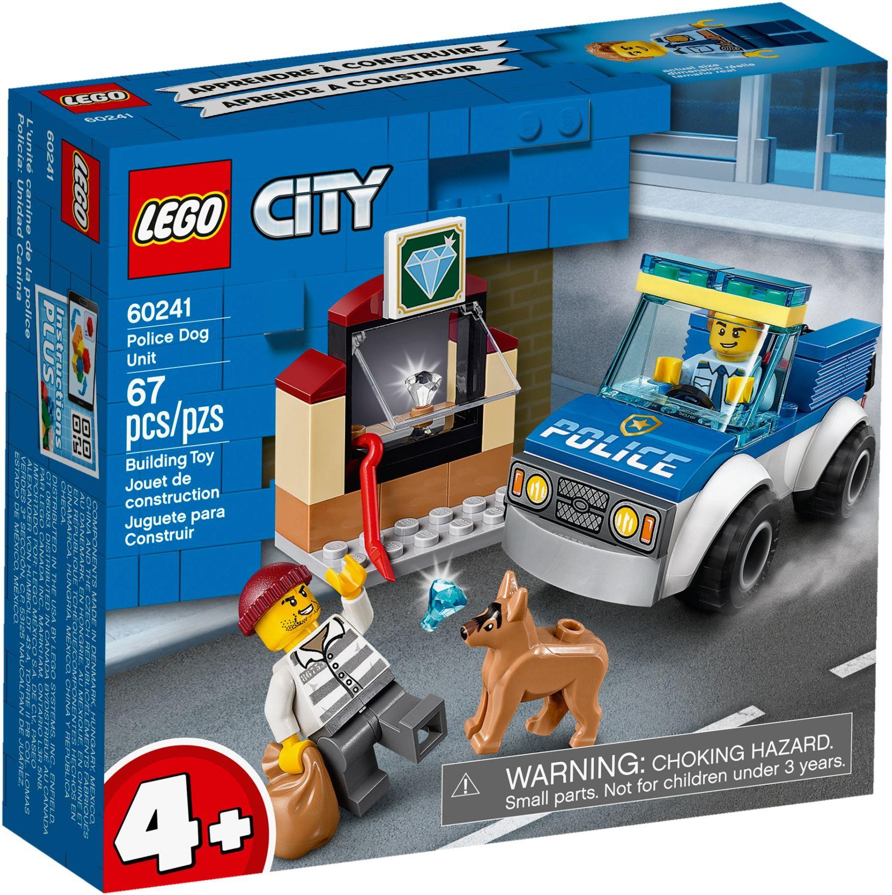 LEGO® 60241 - Kutyás rendőri egység