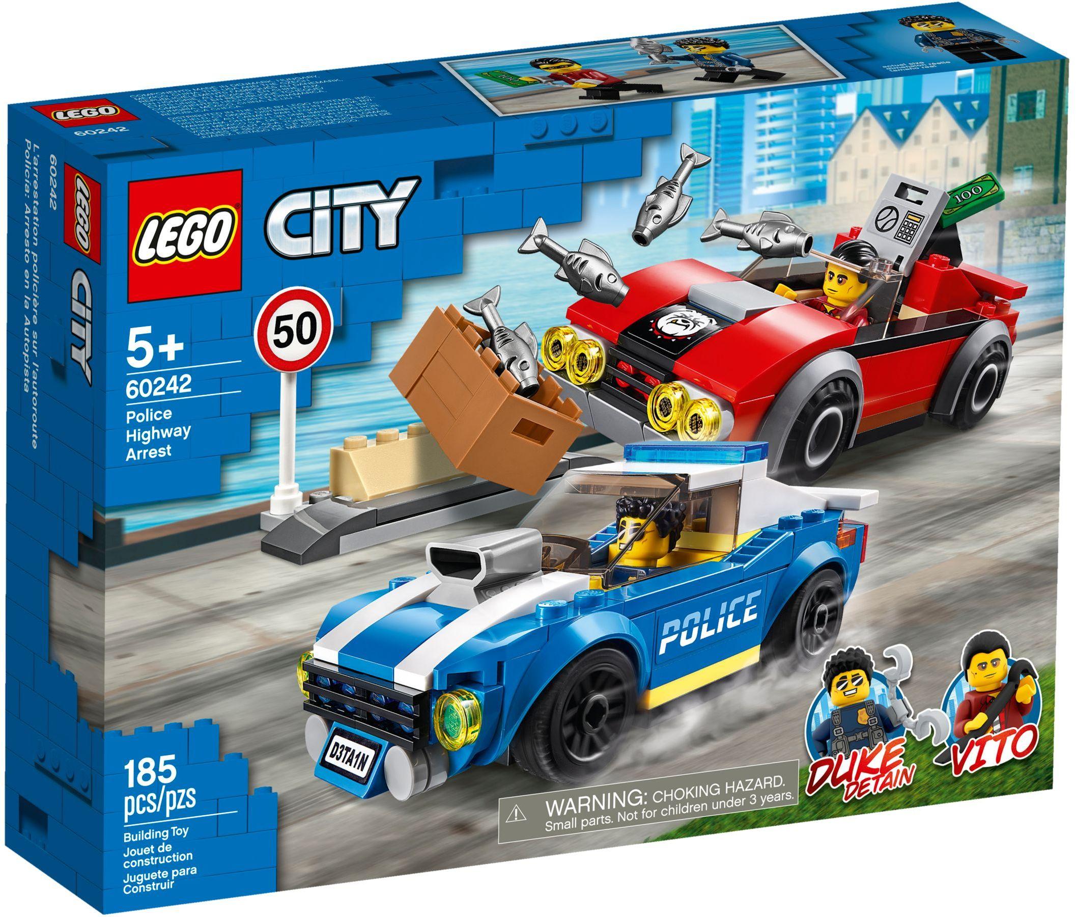 LEGO® 60242 - Rendőrségi letartóztatás az országúton