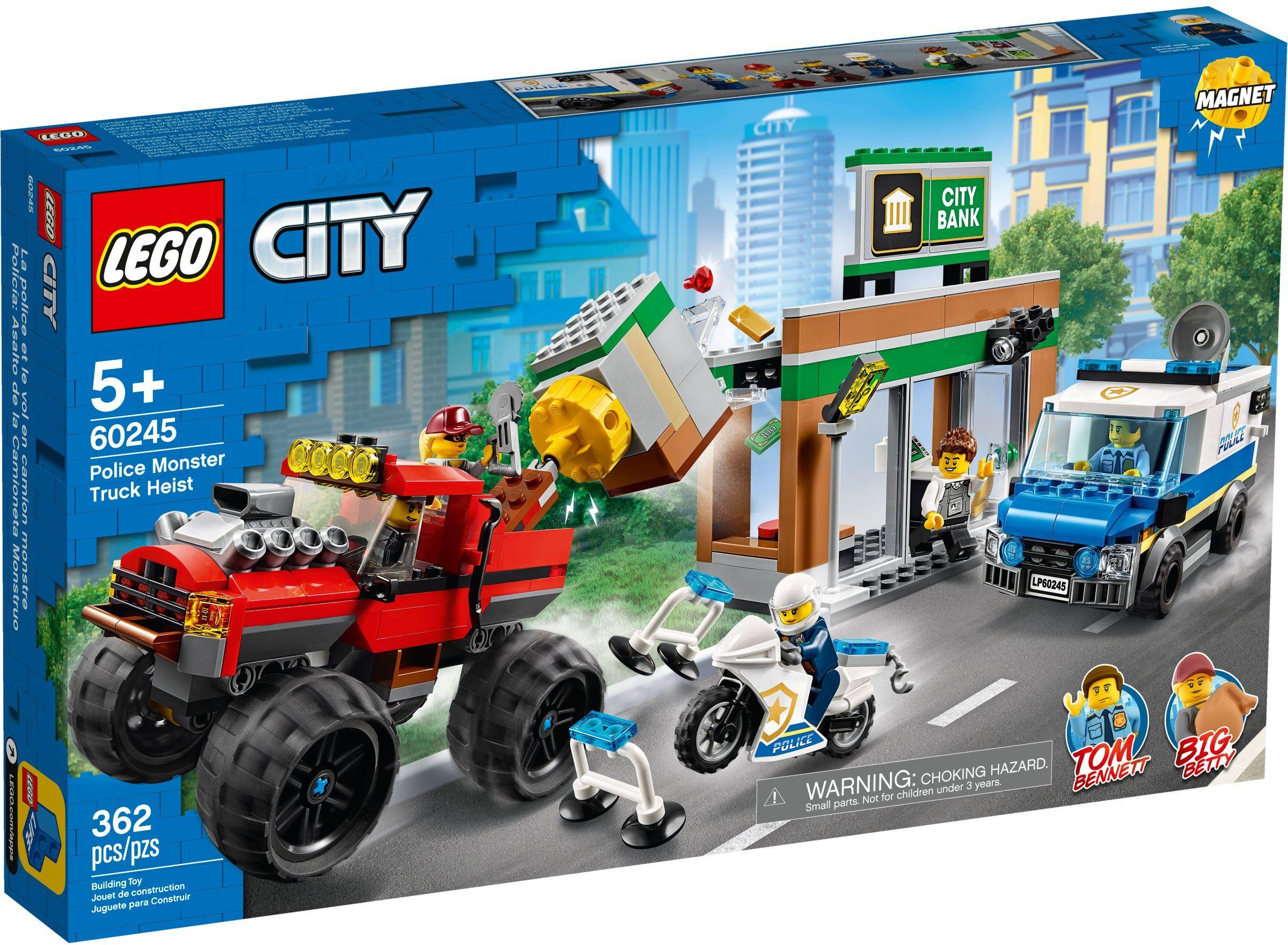 LEGO® 60245 - Rendőrségi teherautós rablás