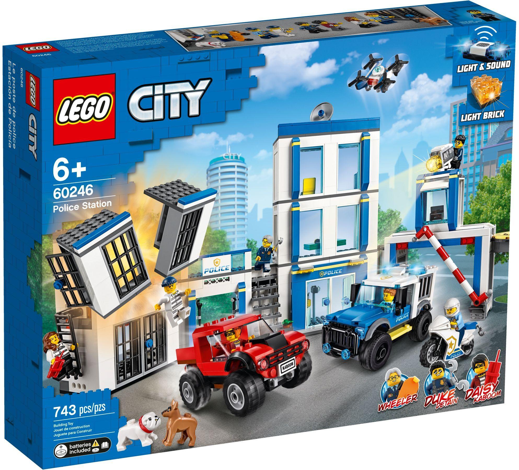 LEGO® 60246 - Rendőrkapitányság